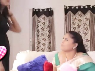 Satin porn lesbian Satin silk saree yoga lesbians