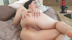 russian girl with a beautiful ass