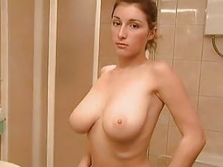 Gay sauna fuck - Gorgeous tits chick fucked in sauna