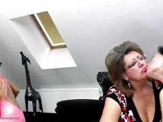 Crazy lesbian fetish Crazy lesbian group sex with grannies moms and girls
