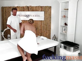 Back room facials pics Massage rooms sensual oily back rub leads to a hardcore fuck