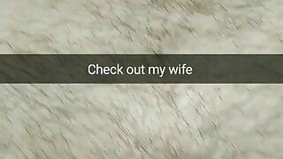 Did you like how my wife looks like? - Milky Mari Snap