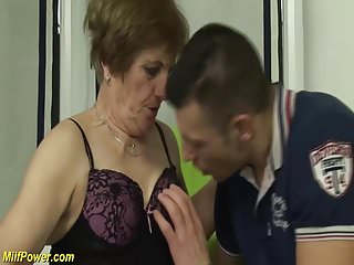 What was the first porno Hairy grandmas first porno shooting