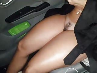 Mature wife flashing - Wife flashing in car