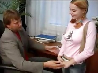 Gay adult visit the headmaster - The headmaster and the schoolgirl
