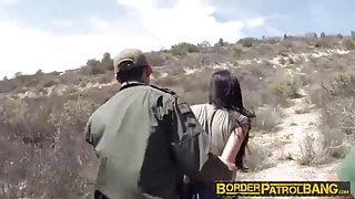 Sexy latina babe Kimberly gets drilled
