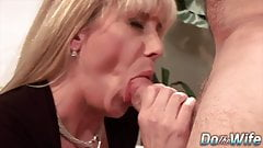 Do The Wife - Mature Housewives Sucking Dick Compilation 1
