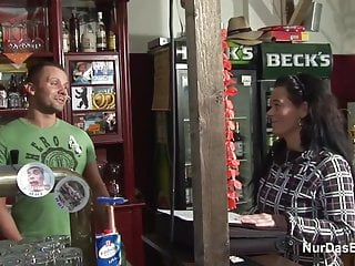 Mother and daghter get fucked German 38yr old mother get fucked in bar by younger stranger