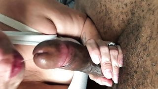 Latina wife being used