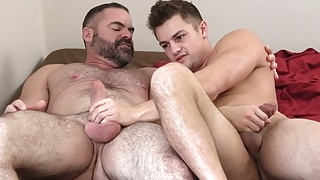 Jock Step Son Family Sex With Bear Step Dad After Caught