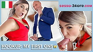 Italian YouTuber Cunt Hooks Up With Old Man! SESSO-24ORE.com