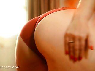 Katrin h nelt nude - Katrin porto - busty redhead plays with hairy pussy