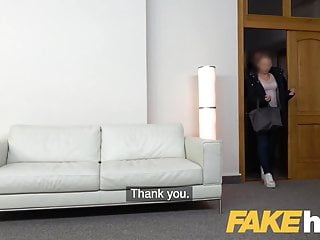 Fuck a sexy officers - Fake agent hot office fuck for slender sexy naughty british