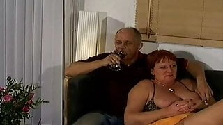 Handsome Swedish Bear with Mature full woman