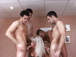 Big mature pussy video - Mature pussy is fucked in every hole