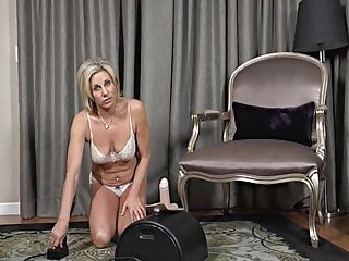 Wife sybian suck cock Housewife stimulation