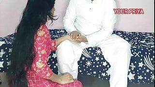 Tharki Sasur fucked very hard with YOUR PRIYA, Hindi Roleplay sex