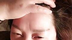 Chinese mature pounding