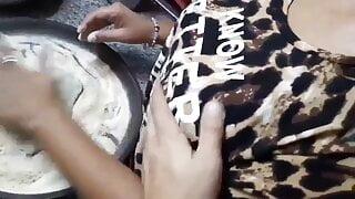 Peshawari call girl baking bread for clients