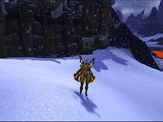 Wood elf hentai Blud elf blonde in armor