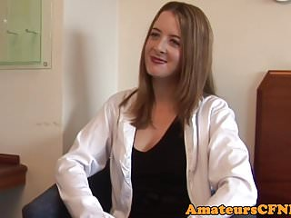 Pure cfnm lingerie Cfnm doctor wanks cock during examination