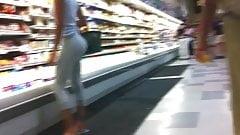 best ass on the world ! ( voyeur supermarket )