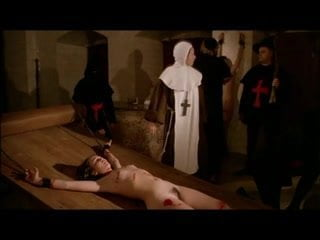 Witch on torture bench porno