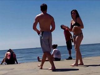 Sexy women in alpena michigan Candid beach ass butt west michigan booty sexy brunette