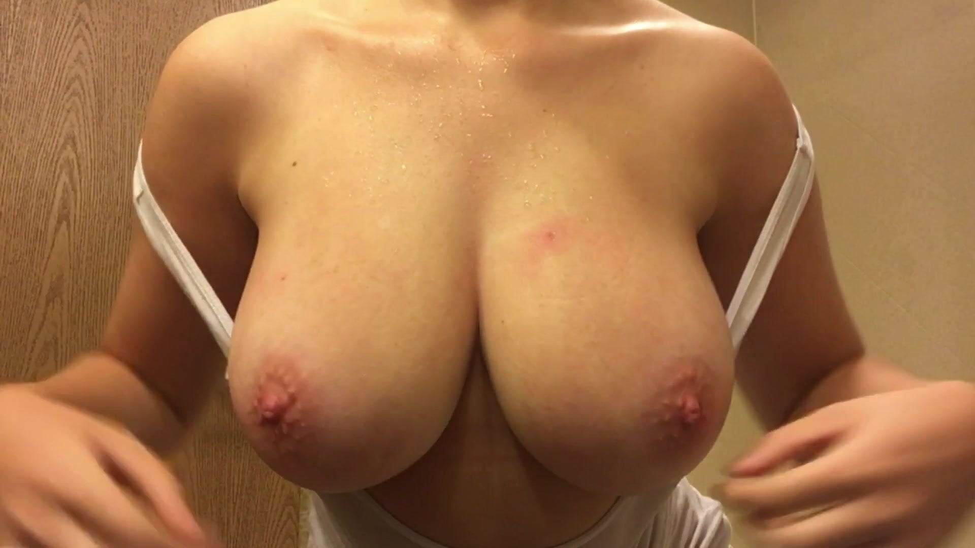 Her big tits in a tank top Huge Natural Tits White Tank Top Heaven Porn F0 Xhamster Xhamster