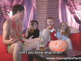 Adult halloween idea party scary Halloween home sex party