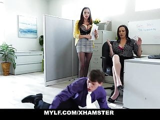 Young anal porn review - Mylf - executive mylfs review employees cock performance