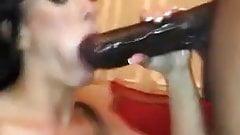 Wife Suck big black dik
