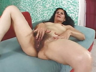 Poking breasts - Bushy bexxy is filmed for her brasa madura being poked