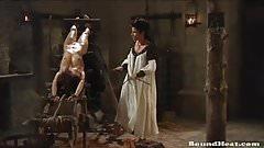 Lesbian Slaves In Bondage Satisfying Countess