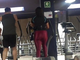 Pornstar butt work out Big butt working out, phat ass moving in spandex