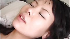 Asian milf creampie