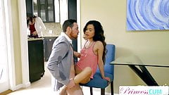 StepDad Cant Pull Out Filling Asian Teen Pussy S2:E9