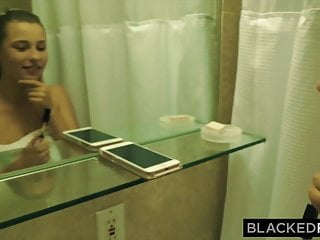 In porn small teen - Blackedraw small blonde teen destroyed by the biggest cock