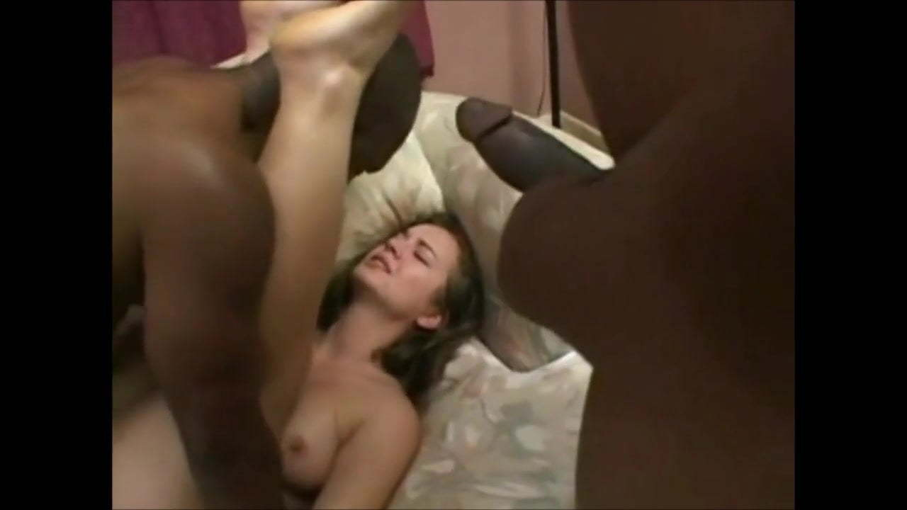 Big Black Cock Rough Gangbang