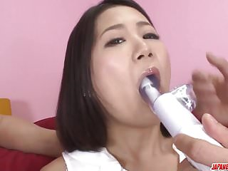 Woman lingerie for men - Kyoka sono appealing woman fucked by two men
