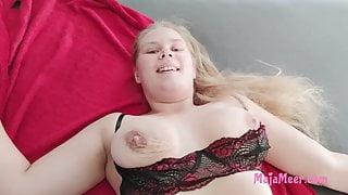 Stepbrother fucks his chubby stepsister Maja