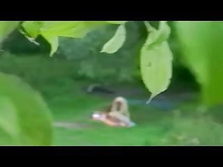 Nude couple artistic pictures - Spying nude couple in forest bvr