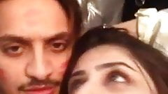 Young Pakistani lovers selfie