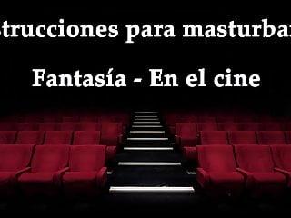 Tv porno gratis en espanol Joi - masturbandote en el cine, fantasia en espanol.