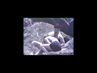 Teen sex beach blow job Vintage 1994 - beach blow job voyeur