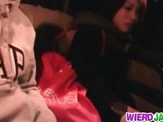 Lesbians fucking in a car Wildest fucking in a car