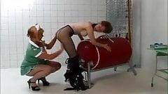 Prison Lesbian Medical Exam & Bondage Humiliation Punishment