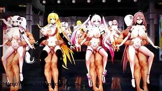 r18mmd miku SEX Dance gentleman 3D