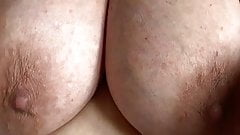 Big hanging tits that need sucking and fucking