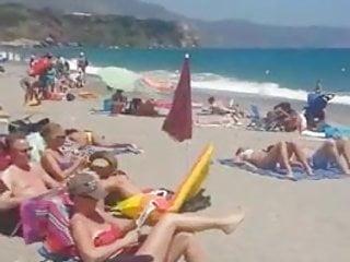 Brazilian bikini cheap Beach public masturbation